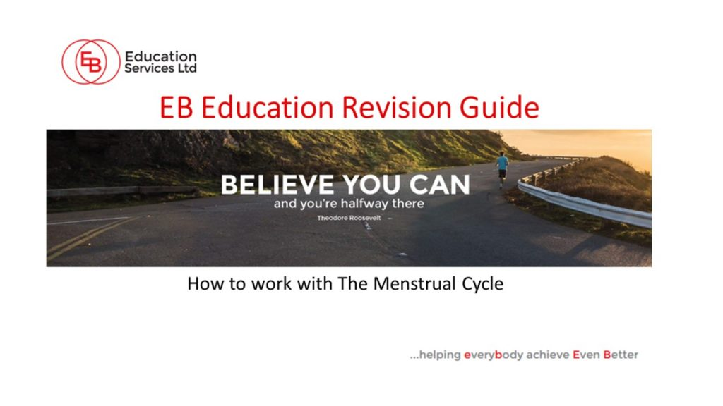 How to work with the menstrual cycle
