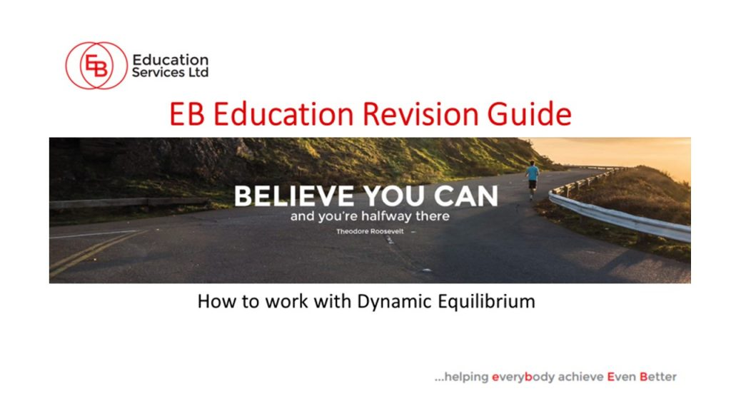 GCSE powerpoint dynamic equiilbrium