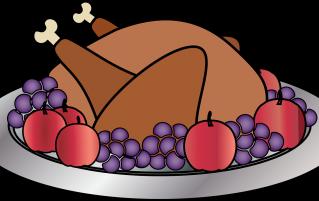 Turkey and fruit